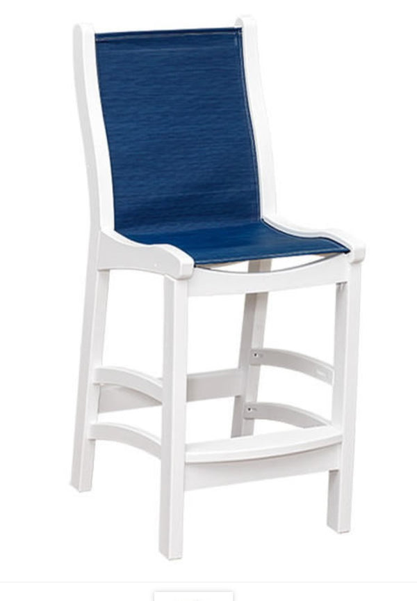 Casual Comfort Bayshore Pub/Bar Sling Chair   CC-6514