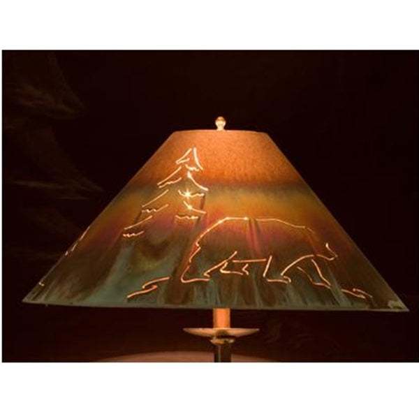 Copper Lamp Shade - Round