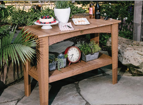 LuxCraft Island Buffet Table IBT