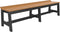 "LuxCraft Cafe Dining Bench 72""   CDB72"