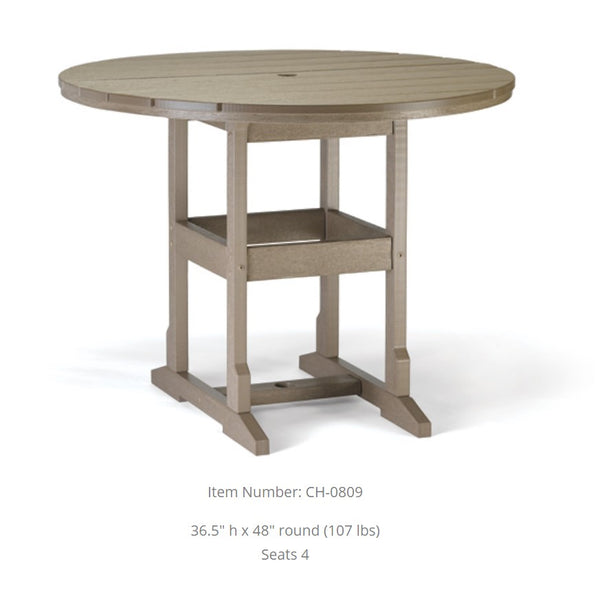 "Breezesta Counter Table - 48 inches Round 36.5"" High  CH-0809"