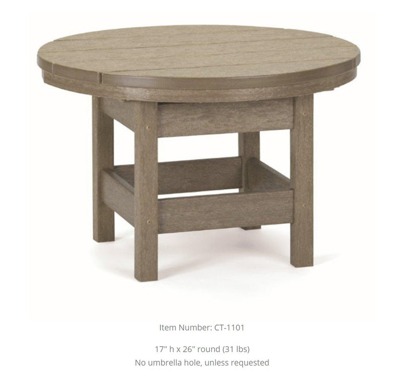 Breezesta Conversation Table - 26 inches Round  CT-1101
