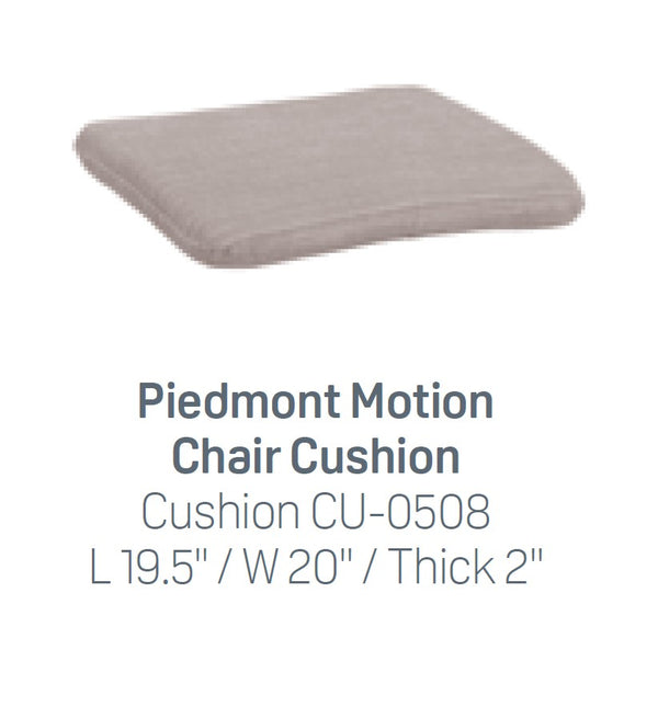 Breezesta Motion Chair Seat Cushion with Ties (Dining, Counter, Bar) (seat only)  CU-0508