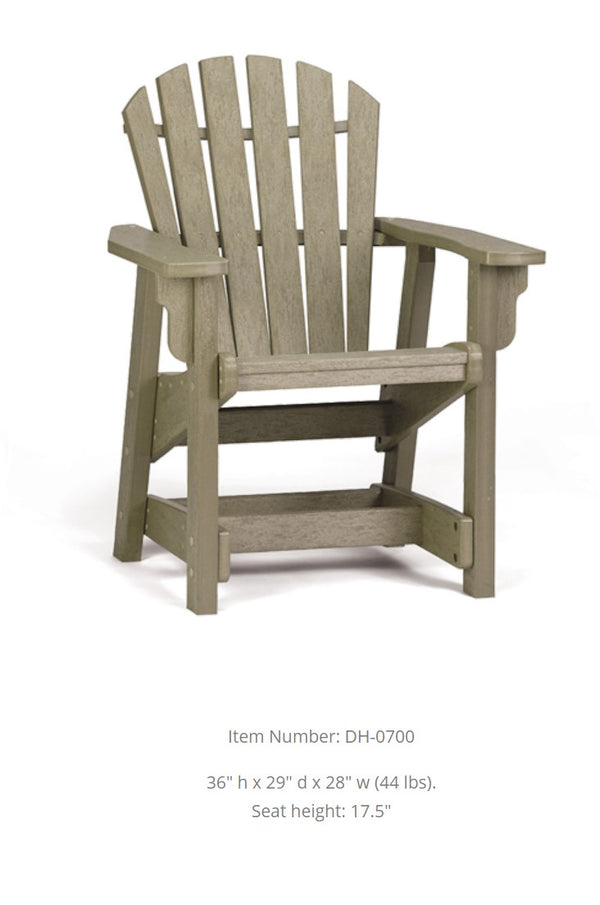 Breezesta Coastal Dining Height Chair  DH-0700