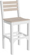 LuxCraft Island Side Chair - Bar (ISC-B)  Set of 2 Chairs