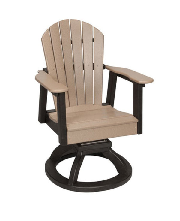 Casual Comfort Oceanside Swivel Rocker Dining Chair  CC-156