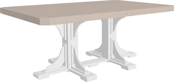 LuxCraft 4' x 6' Rectangular  Table  P46RT