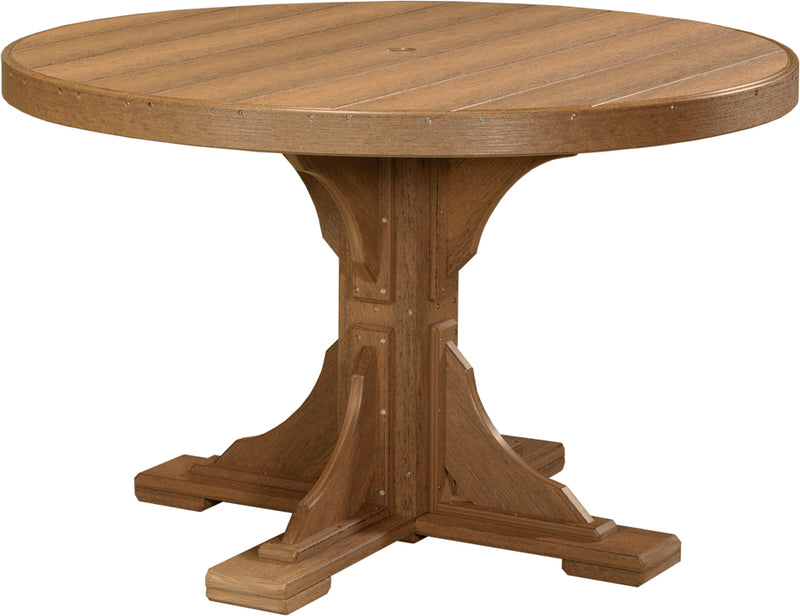 LuxCraft 4' Round  Table  P4RT