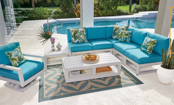 Breezesta Palm Beach Sectional (Set 2) 7 Pieces  PB-Set-2