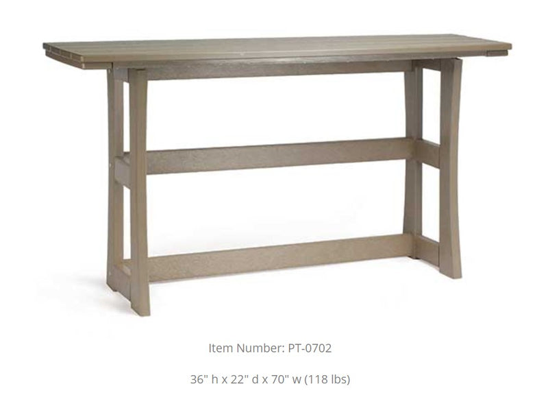 Breezesta Piedmont Terrace Bar Table  PT-0701
