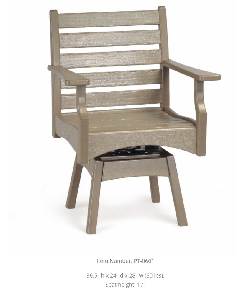 Breezesta Piedmont Dining Swivel Rocker PT-0601