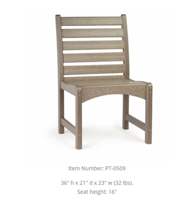 Breezesta Piedmont Side Dining Chair  PT-0509