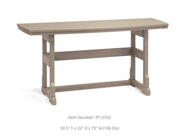 Breezesta Piedmont Terrace Dining Table  PT-0703