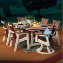 Wavz Dining Set - 7 Pieces  by Casual Comfort CC-(4)5011-(2)5012-(1)4072