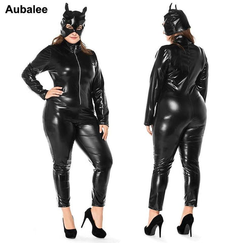 M - XXXL Black Catwomen Jumpsuit on www.askann.co.uk | Cheap Adult Sex Toys