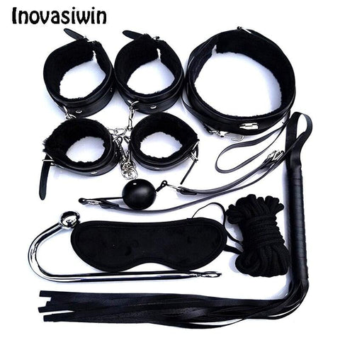 8pcs BDSM Set on www.askann.co.uk | Cheap Adult Sex Toys
