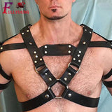 Faux Leather Harness on www.askann.co.uk | Cheap Adult Sex Toys