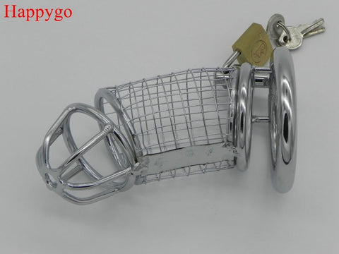 Chrome Metal Chastity Cage on www.askann.co.uk | Cheap Adult Sex Toys