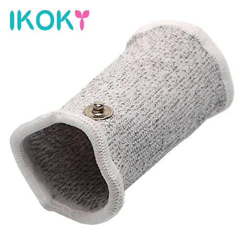 IKOKY Electric Shock Cock Sleeve on www.askann.co.uk | Cheap Adult Sex Toys