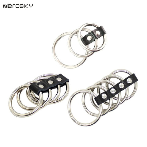 Zerosky Metal Cock Loop Rings on www.askann.co.uk | Cheap Adult Sex Toys