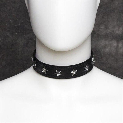 Star Leather Neck Collar on www.askann.co.uk | Cheap Adult Sex Toys