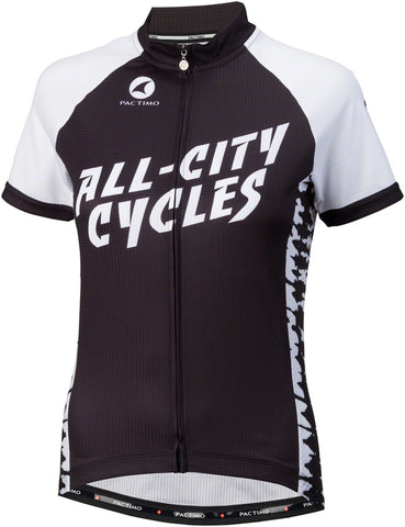 All-City Wangaaa! Women's Jersey: Black/White