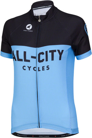 All-City Classic Women's Jersey: Blue/Black