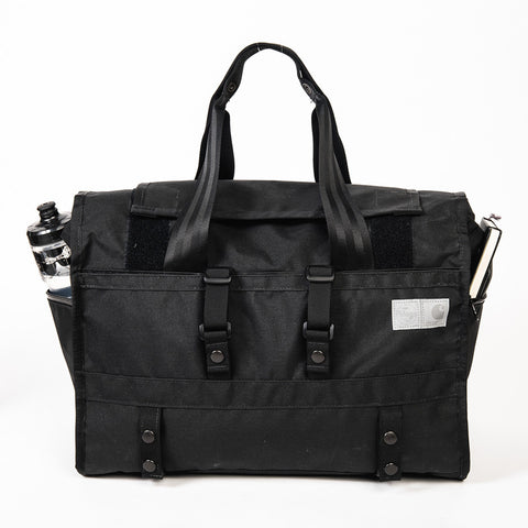 Carhartt WIP x Pelago x Mission Workshop - Roll Top Duffle Bag, HT Black