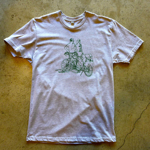 Huckleberry Bike Camping T-Shirt
