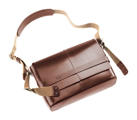 Brooks Barbican Leather Shoulder Bag