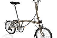 2019 Brompton H6L Raw Lacquer w/ Wide saddle