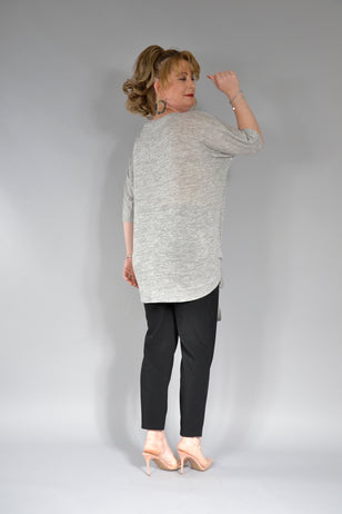 BLUZA MADISON B145MS OVERSIZE GRI