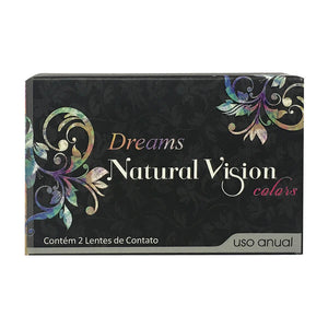Natural Vision DREAMS Graphite ( Grafite ) - Mermaid Eye BEAUTY