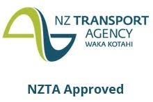 NZTA approved as a temporary gripping device for NZ roads (equivalent to metal snow chains)