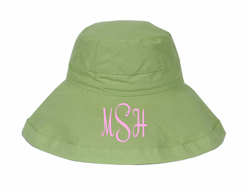 Lime Adult Sunhat
