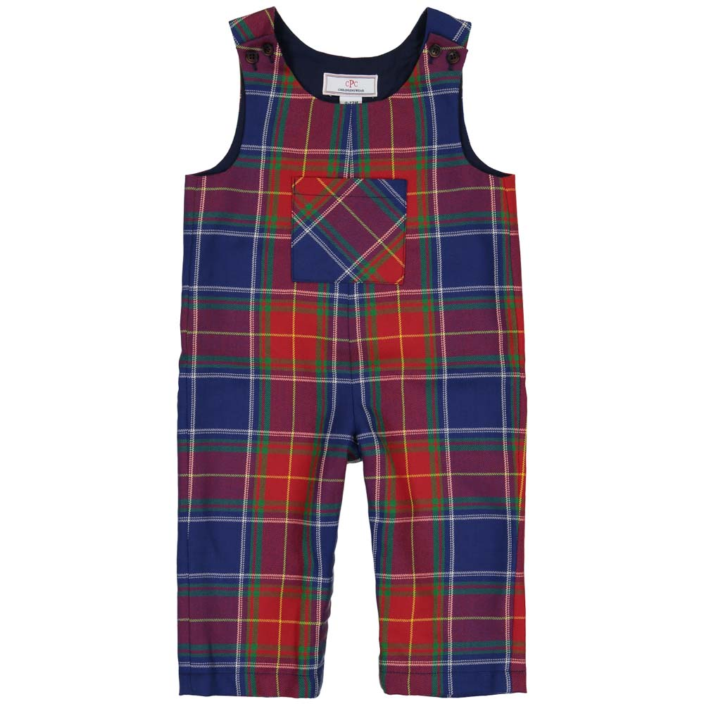 Scotish Tartan Plaid Overalls-1/2 off!