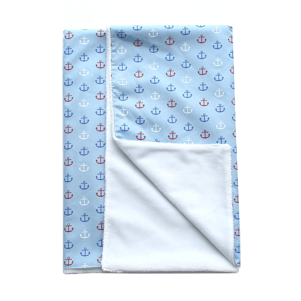 Anchors Away & Minky Blanket