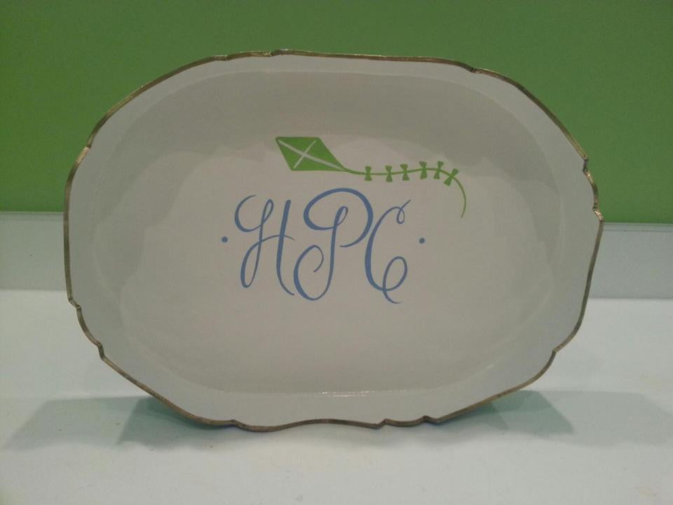 Custom Hand Painted Trays