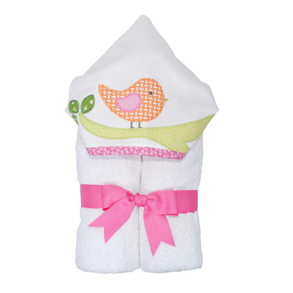 Hooded Applique Towels