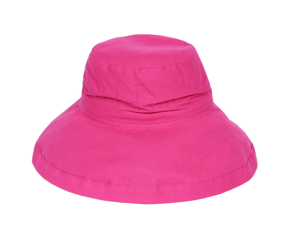Bright Pink Adult Sunhat