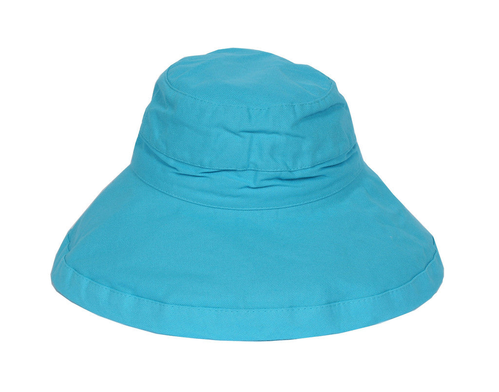Turquoise Adult Sunhat