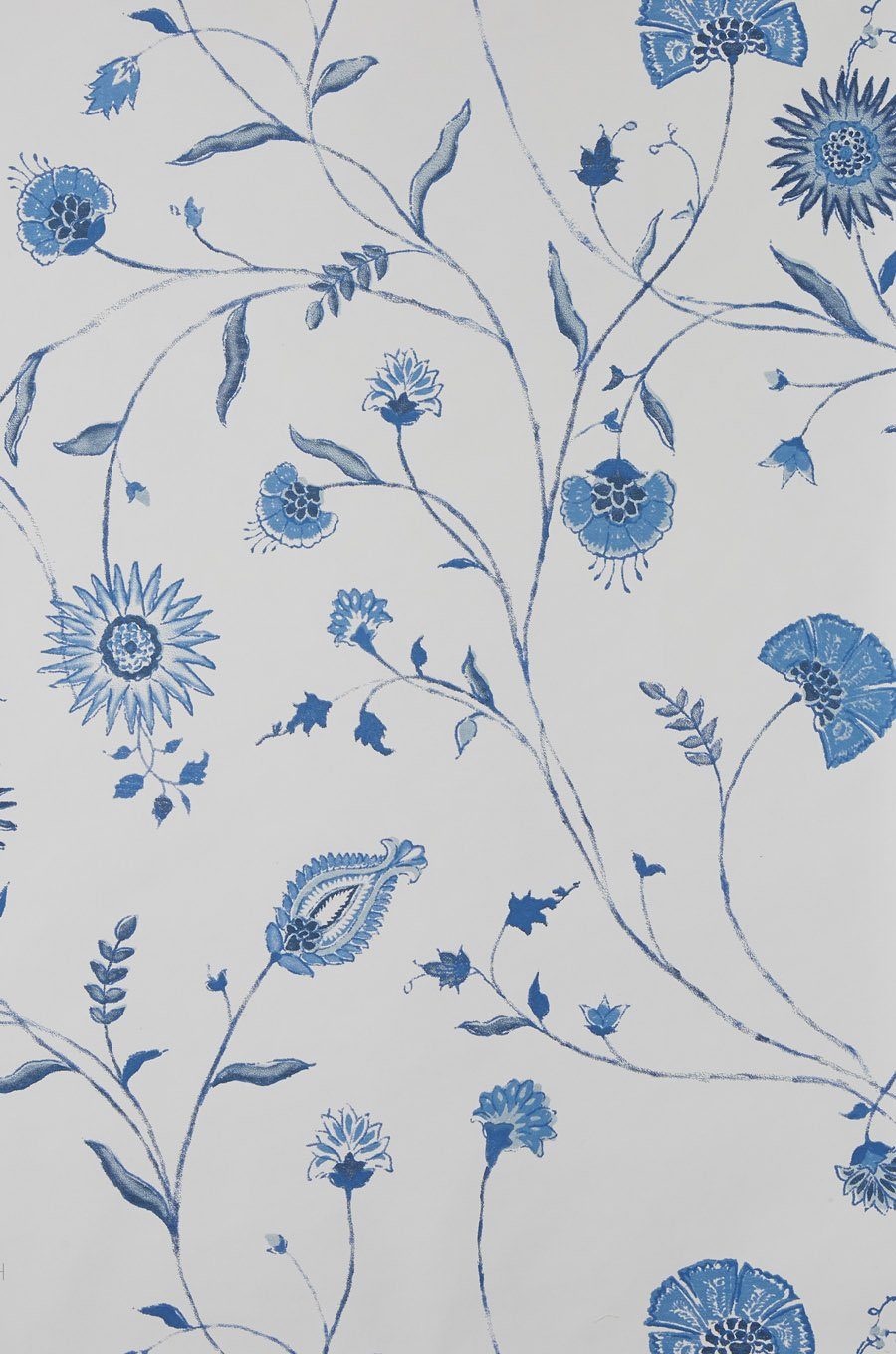 Indian Chintz - Blue/Blue