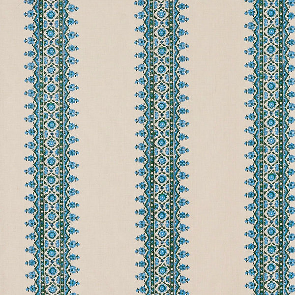 Isfahan Stripe - Blue/Green