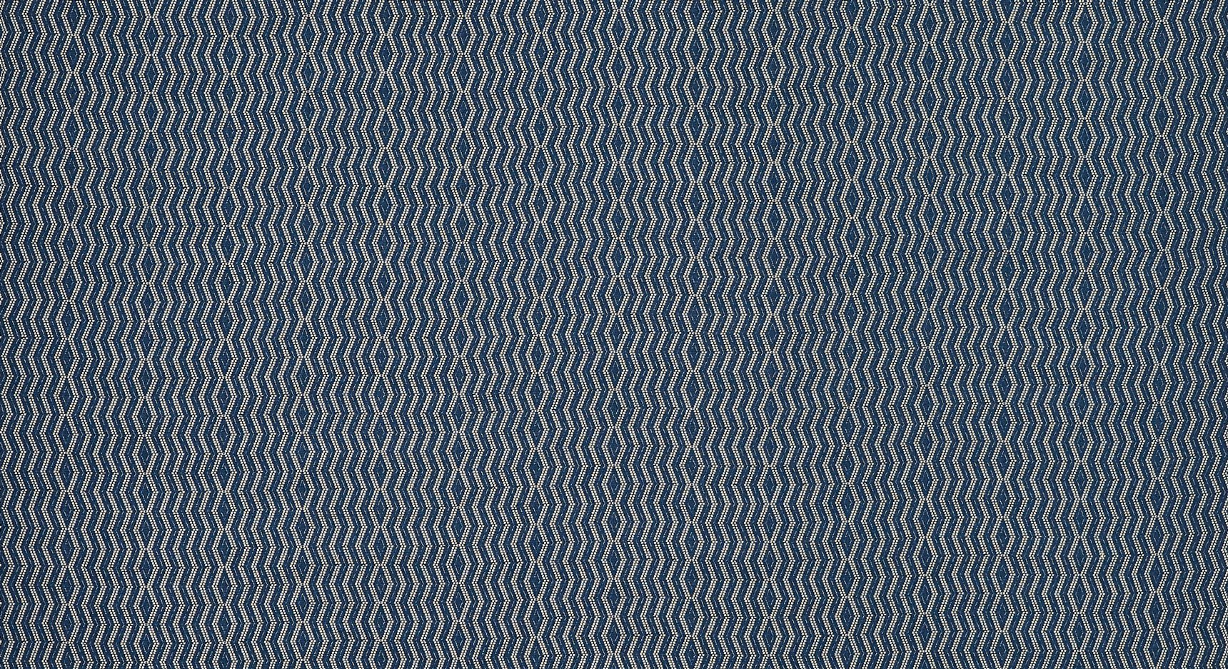 Persis - Indigo on Natural
