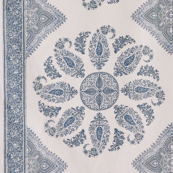 Samarkand - Blue/Blue on White