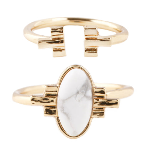 White Sands Ring Set