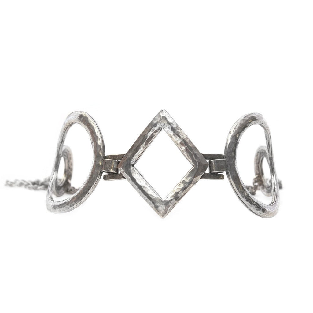Monroe Choker - ANTIQUE SILVER - The 2 Bandits - 1