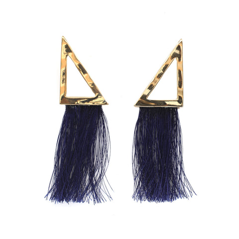 Triangle Tassel Earrings (view more colors)