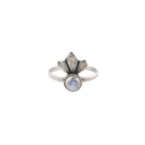 Daytripper Ring (view more colors) - ANTIQUE SILVER / MOONSTONE - The 2 Bandits - 3