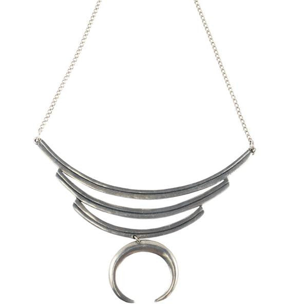 The Leah Necklace (view more colors) - ANTIQUE SILVER - The 2 Bandits - 1